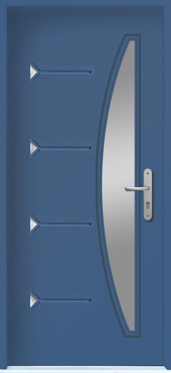 Les portes d entr e r sidentielles les points principaux menbat for Dimension menuiserie alu